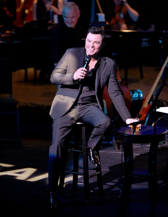 Seth MacFarlane at A Concert for Our Oceans