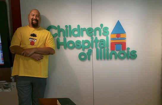 Scott L. Schwartz at Children's Hospital of Illinois