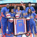 Robin Roberts Named As Honorary Harlem Globetrotter