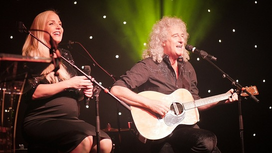 Kerry Ellis and Dr Brian May