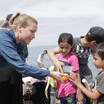 Piper Perabo Shares Experiences Of Visiting Syrian Refugees In Greece