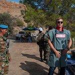 Daniel Craig Visits De-Mining Efforts In Cyprus
