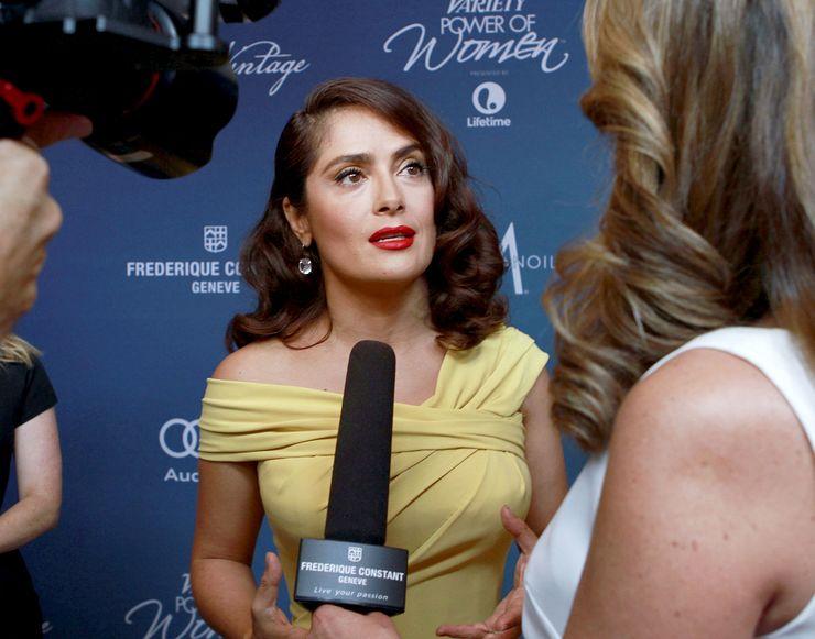 Salma Hayek Pinault at Variety's Power of Women