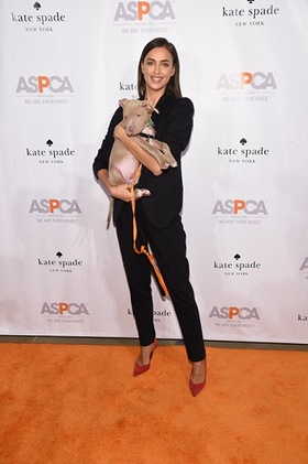 Irina Shayk at ASPCA's annual Young Friends Benefit