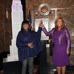 Patti LaBelle And Denise Rich Light Up Empire State Building For Angel Ball