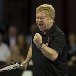 Elton John's Smash Hits Tennis Raises Over $1 Million