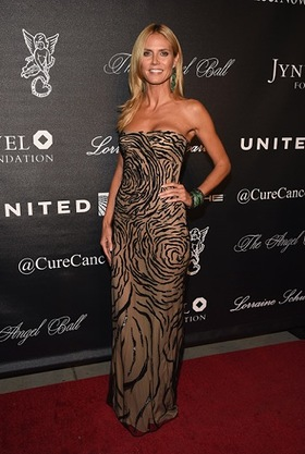 Heidi Klum at Angel Ball