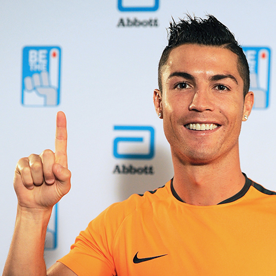 Abbott and soccer superstar Cristiano Ronaldo team up for the #BeThe1Donor movement