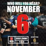 NFL Players Association Announces First NFLPA Jersey Friday