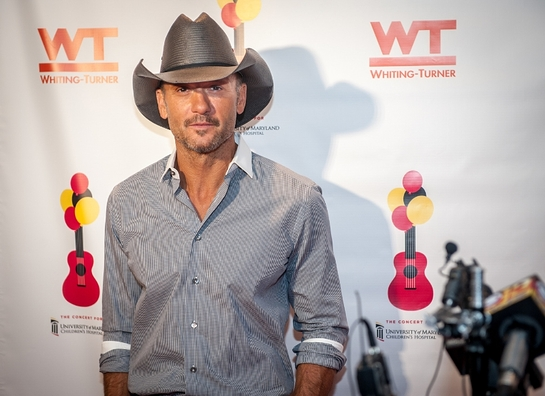 Tim McGraw is seen at the Concert For University of Maryland Children's Hospital