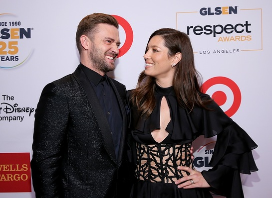 Justin Timberlake and Jessica Biel At GLSEN Respect Awards – Los Angeles