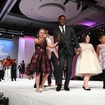 Jamie Foxx Joins Star-Studded Fashion Show For Global Down Syndrome Foundation