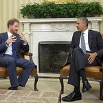 Prince Harry Discusses Veteran Issues With Barack Obama