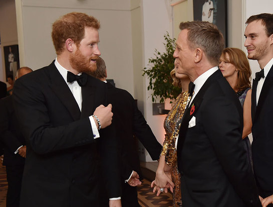 Prince Harry and Daniel Craig