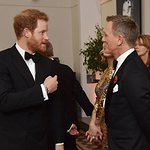 Royals Attend Special Charity Screening Of New James Bond Film
