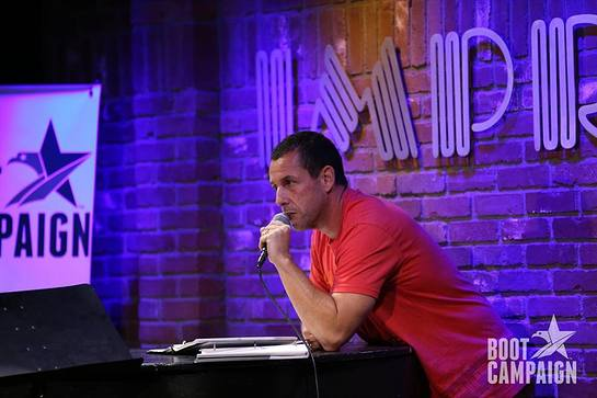 Adam Sandler Performs At Boot Jam