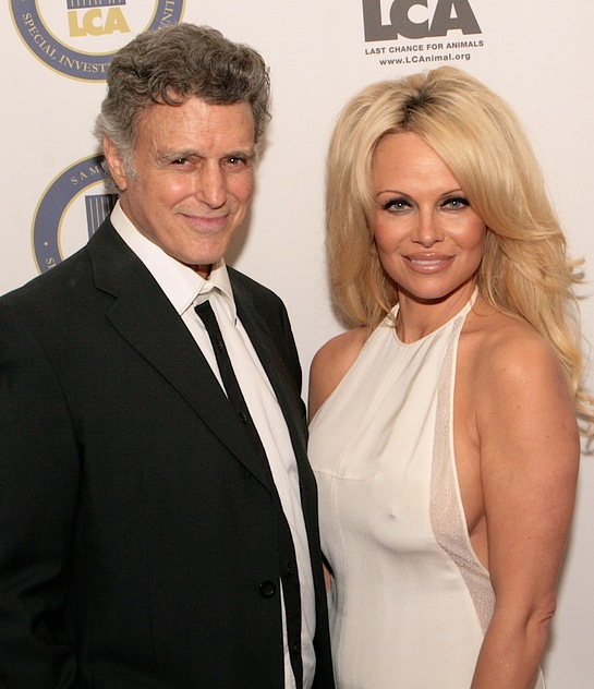 Chris DeRose and Pamela Anderson