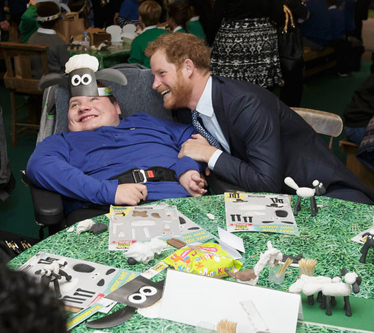 Prince Harry at the Charities Forum, hosted by BAFTA and Aardman Animations