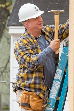 Garth Brooks helped build a home in Memphis, Tennessee