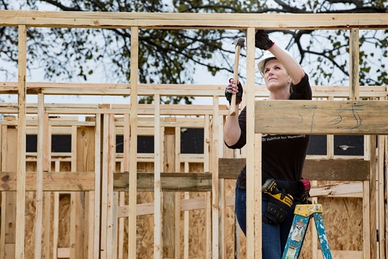 Trisha Yearwood helped build a home in Memphis, Tennessee
