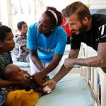 David Beckham Visits Papua New Guinea With UNICEF