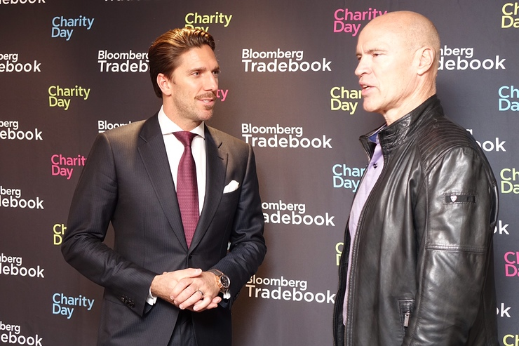 Henrik Lundqvist and Mark Messier